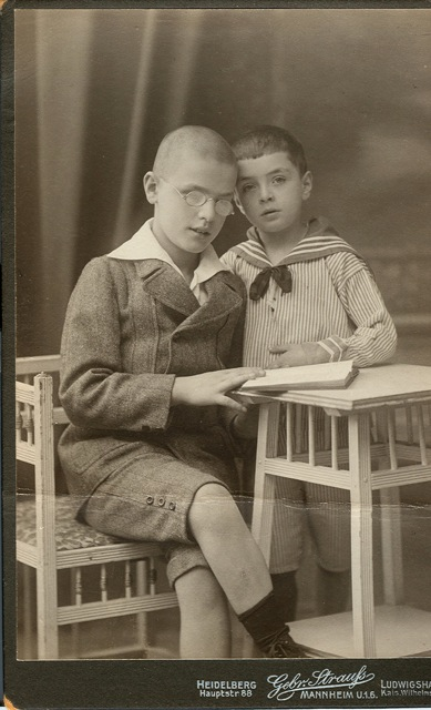 Alfred & Joseph ages 12 and 6